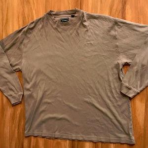 Bolle Golf Tan Long Sleeve Shirt
